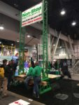 The team at Non-Stop Scaffolding had a booth bustling with activity throughout the show.