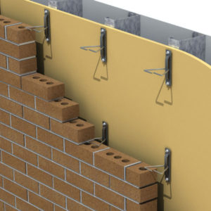 Anchoring systems for brick veneer walls