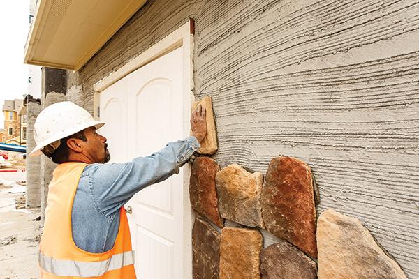 Thin Brick Veneer Stone Natural Thin Stone: Flashing For Adhered Masonry Veneer