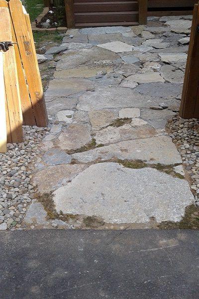 How to Build a Mossy Dry Stone Patio