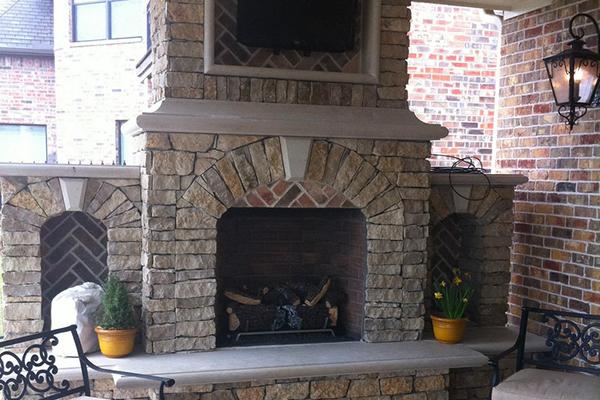 Installing Brick Veneer Around A Fireplace Pro Masonry Guide