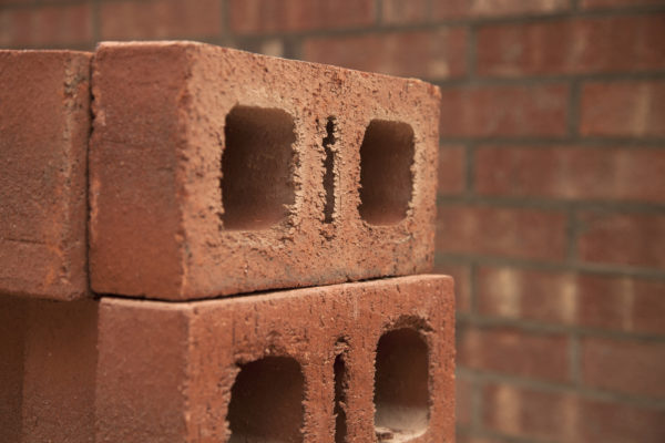 Shown is the Endurance RS4 structural brick, an oversized structural brick manufactured by General Shale.